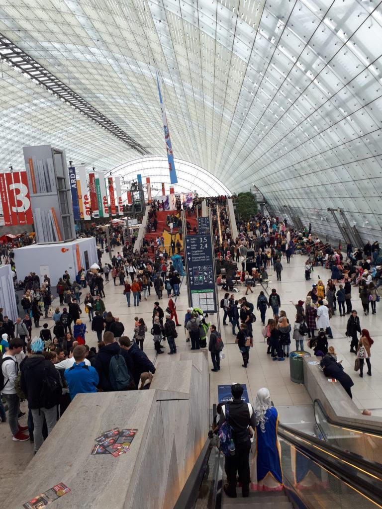Besuch der Leipziger Buchmesse