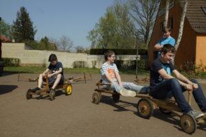 "Projekt ""Aktive Pause"" mit dem Pedalo-Spielmobil"