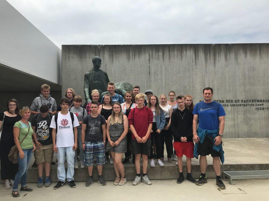 Klasse 10c zu Besuch in der Gedenkstätte Sachsenhausen