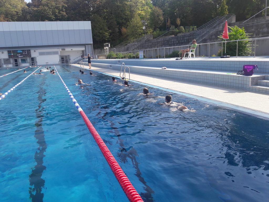 Sportunterricht der neunten Jahrgangsstufe fällt ins Wasser