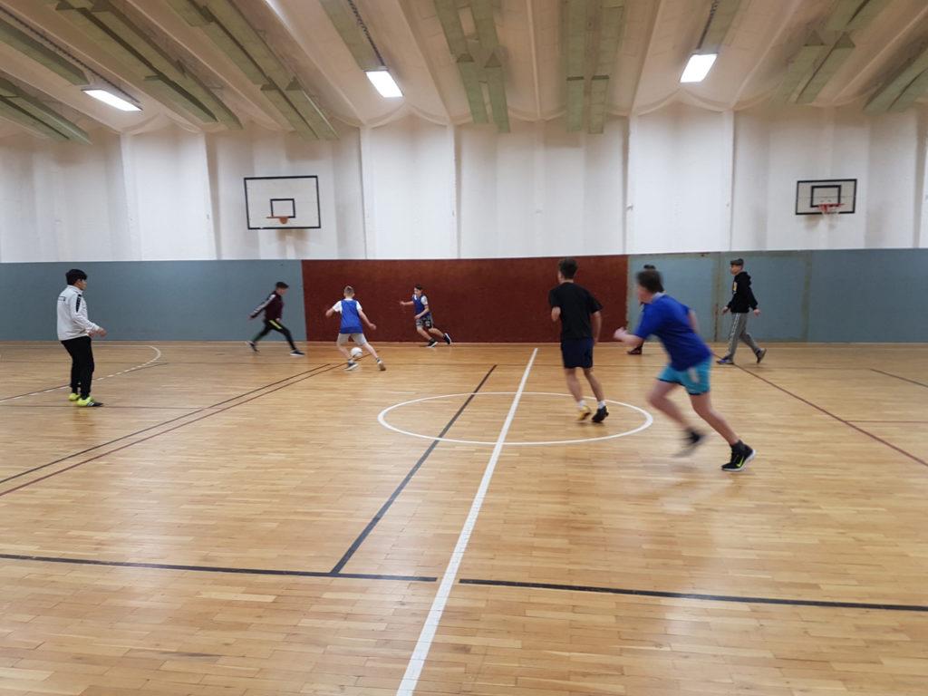 Fußballturnier am Tag der offenen Tür 2019