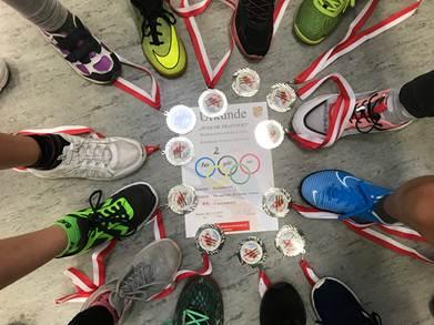 Jugend trainiert für Olympia - Zweifelderball