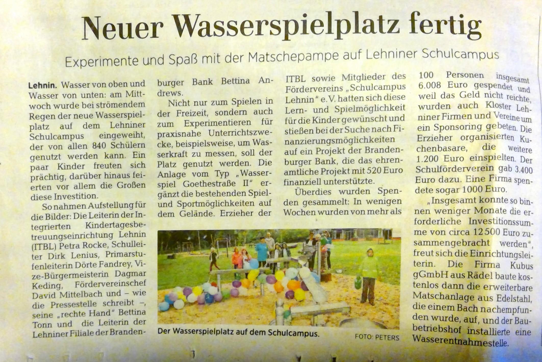 """""""Experimente und Spaß mit Matschepampe"""""""