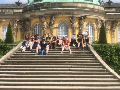 Rallye durch den Park Sanssouci